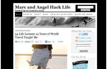 http://www.marcandangel.com/2011/08/03/54-life-lessons-14-years-of-world-travel-taught-me/