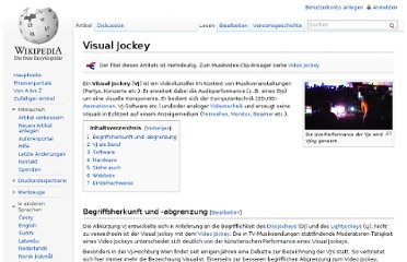 http://de.wikipedia.org/wiki/Visual_Jockey