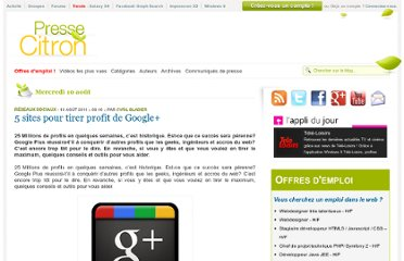 http://www.presse-citron.net/5-sites-pour-tirer-profit-de-google