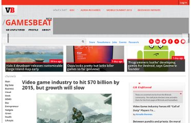 http://venturebeat.com/2010/05/25/video-game-industry-to-hit-70-billion-by-2015-but-growth-will-slow/