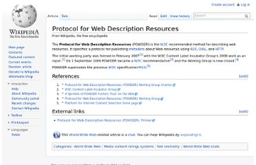 http://en.wikipedia.org/wiki/Protocol_for_Web_Description_Resources