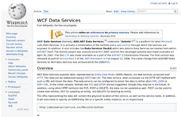 http://en.wikipedia.org/wiki/WCF_Data_Services