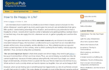 http://www.spiritualpub.com/how-to-be-happy-in-life.php