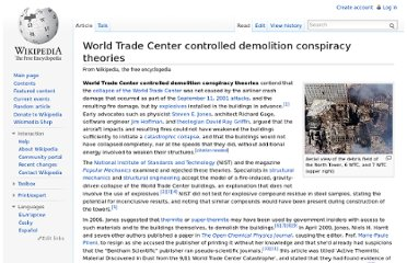 http://en.wikipedia.org/wiki/World_Trade_Center_controlled_demolition_conspiracy_theories