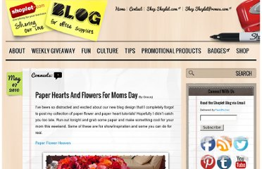 http://blog.shoplet.com/office-ideas/paper-hearts-and-flowers-for-moms-day/