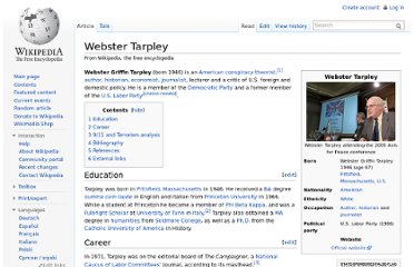 http://en.wikipedia.org/wiki/Webster_Tarpley