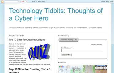 http://cyber-kap.blogspot.com/2010/11/top-10-sites-for-creating-quizzes.html