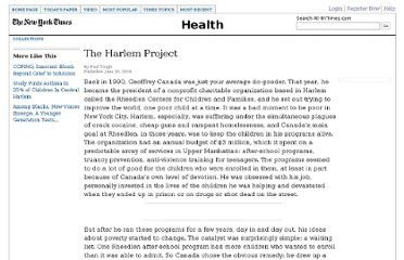 http://www.nytimes.com/2004/06/20/magazine/the-harlem-project.html