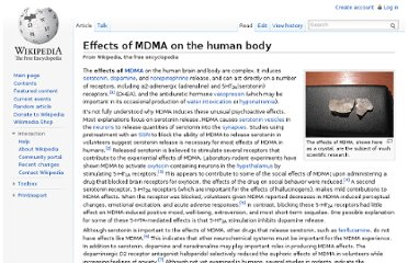 http://en.wikipedia.org/wiki/Effects_of_MDMA_on_the_human_body