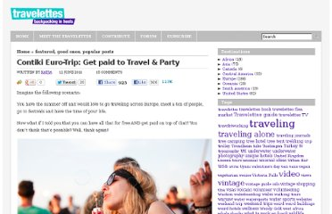 http://www.travelettes.net/contiki-euro-trip-get-paid-to-travel-have-fun-and-party/