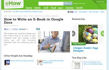http://www.ehow.com/how_4888107_write-ebook-google-docs.html