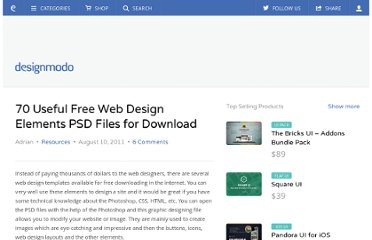 http://designmodo.com/free-web-design-elements-psd/