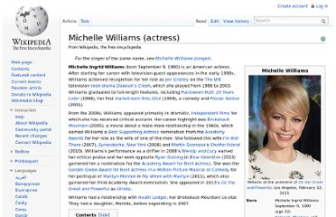 http://en.wikipedia.org/wiki/Michelle_Williams_(actress)