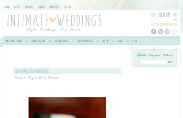 http://www.intimateweddings.com/blog/how-to-make-your-own-sushi/