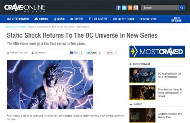 http://www.craveonline.com/comics/articles/163593-static-shock-returns-to-the-dc-universe-in-new-series