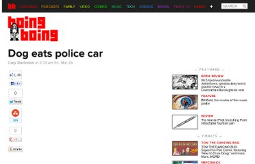 http://boingboing.net/2010/03/26/dog-eats-police-car.html