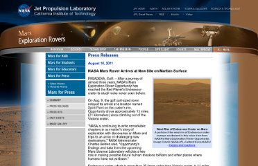 http://marsrovers.jpl.nasa.gov/newsroom/pressreleases/20110810a.html