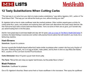 http://www.menshealth.com/mhlists/cut_carbs/printer.php