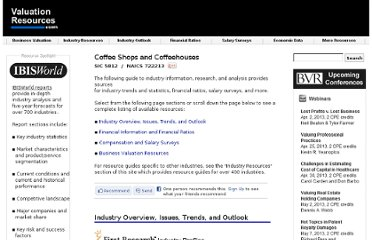 http://valuationresources.com/Reports/SIC5812CoffeeShops.htm