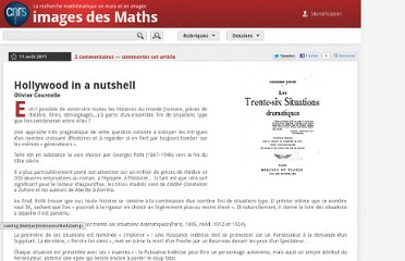 http://images.math.cnrs.fr/Hollywood-in-a-nutshell.html