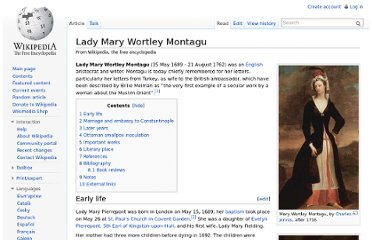 http://en.wikipedia.org/wiki/Lady_Mary_Wortley_Montagu