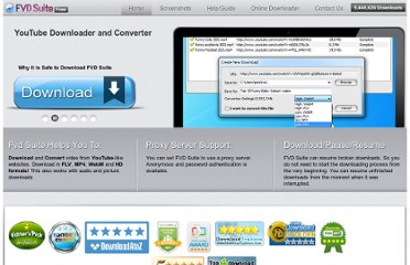 http://www.flashvideodownloader.org/fvd-suite/