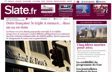 http://www.slate.fr/story/42305/triple-A-France-menace-dette