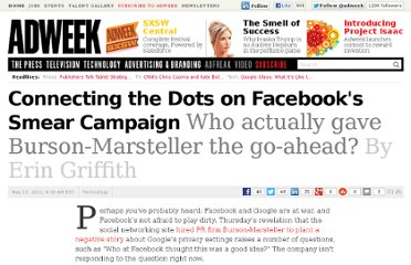 http://www.adweek.com/news/technology/connecting-dots-facebooks-smear-campaign-131584