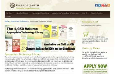 http://villageearth.org/appropriate-technology/appropriate-technology-library