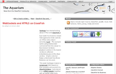 http://blogs.oracle.com/theaquarium/entry/websockets_and_html5_on_glassfish