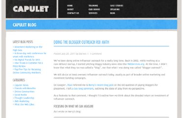 http://capulet.com/2011/07/doing-the-blogger-outreach-roi-math/