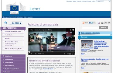 http://ec.europa.eu/justice/data-protection/index_en.htm