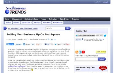http://smallbiztrends.com/2011/08/setting-your-business-up-on-foursquare.html