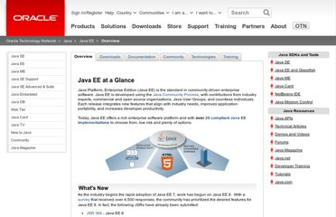http://www.oracle.com/technetwork/java/javaee/overview/index.html