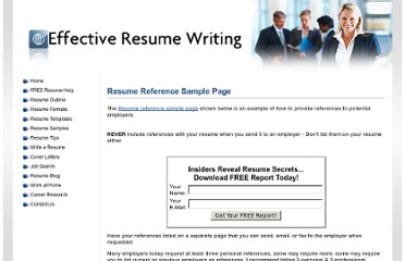 http://www.effective-resume-writing.com/resume-reference-sample-page.html