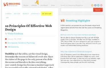 http://uxdesign.smashingmagazine.com/2008/01/31/10-principles-of-effective-web-design/