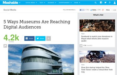 http://mashable.com/2011/08/11/museums-digital/