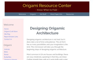 http://www.origami-resource-center.com/designing-origamic-architecture.html