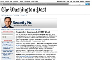 http://voices.washingtonpost.com/securityfix/2008/07/amazon_hey_spammers_get_off_my.html
