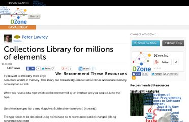 http://java.dzone.com/articles/collections-library-millions