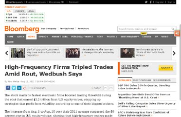 http://www.bloomberg.com/news/2011-08-11/high-frequency-firms-tripled-trading-as-s-p-500-plunged-13-wedbush-says.html