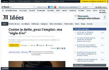 http://www.lemonde.fr/idees/article/2011/08/12/contre-la-dette-pour-l-emploi-ma-regle-d-or_1558928_3232.html