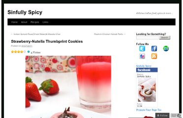 http://sinfullyspicy.com/2011/01/27/strawberry-nutella-thumbprint-cookies-eggless-recipe/
