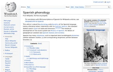 http://en.wikipedia.org/wiki/Spanish_phonology
