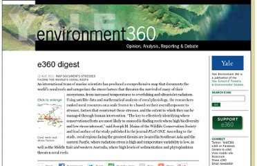 http://e360.yale.edu/digest/map_documents_stresses_facing_the_worlds_coral_reefs/3080/