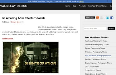 http://vandelaydesign.com/blog/design/after-effects-tutorials/