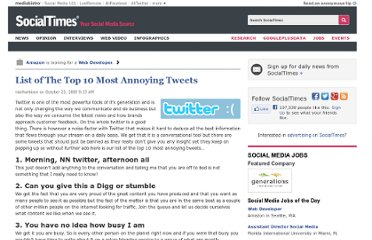 http://socialtimes.com/list-of-most-annoying-tweets_b8916