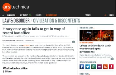 http://arstechnica.com/tech-policy/news/2011/02/piracy-once-again-fails-to-get-in-way-of-record-box-office.ars