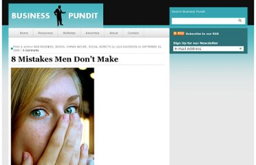 http://www.businesspundit.com/8-mistakes-men-dont-make/
