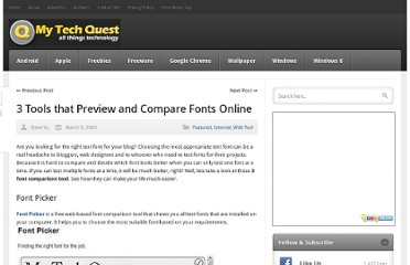http://mytechquest.com/internet/3-tool-that-preview-and-compare-fonts-online/